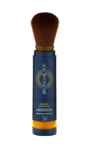 Susan Posnick mineral sunscreen brush on