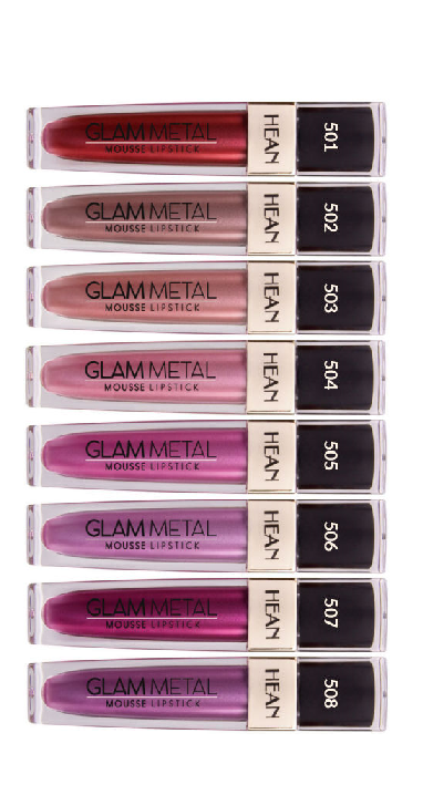 Hean Glam Metal Mousse Lipstick