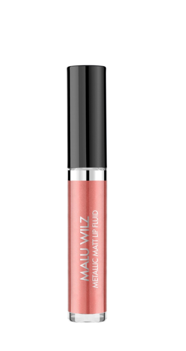 Malu Wilz Metallic Matt Lip Fluid nr. 02 Dreamy roségold