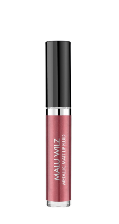 Malu Wilz Metallic Lip Fluid nr. 07 Perfect plum