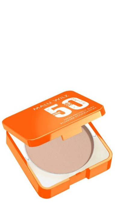 Malu Wilz - High protection sun powder foundation cool beige