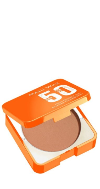 Malu Wilz - High protection sun powder foundation spf50 warm beige