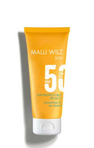 Malu Wilz sun protect face spf50