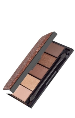 MNalu Wilz luxury eyeshadow gold coffee