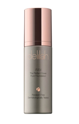 Delilah alibi perfect cover fluid foundation